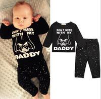 Wholesale Boys 24 Months Pajamas - 2017 ins Boys Baby Clothing Sets Short Sleeve tshirts Batman Pants 2Pcs Set Summer Toddler Home Pajamas Infant Boutique Clothes Suits