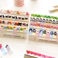 36 Pcs / Lot One Point Marker Notes autocollantes Animaux Mignon Bloc-notes Papier Zakka Marque-Pages Papeterie Fournitures de bureau Fournitures scolaires
