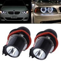 engel augen x5 großhandel-10W LED Angel Eye Halo Licht für BMW E39 E60 5er M5 X5 E53 E63 E65 X3