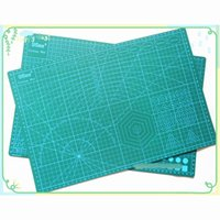 Wholesale Quilting Cutting Mats - Wholesale-PVC Cutting Mat a3 45*30cm 9 Sea Durable Self Healing Handmade DIY Quilting Accessories Flexible Green Patchwork Board Plotter