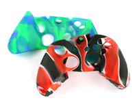 xbox un controlador cubre al por mayor-Para la cubierta de la caja de la piel del camuflaje flexible del silicón suave de Xone para la cubierta del apretón del regulador delgado de Xbox One S