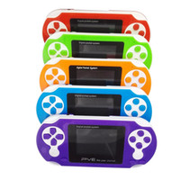 Wholesale Digital Portable Tv Games - 2.5 Inch 8 Bit FC PVE Portable Handheld Game Player Digital Pocket System TV Out Video Games Console Kid Gifts