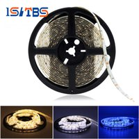 Wholesale Side Emitting Led Lights - 335 Side Emitting LED Strip Lights 12V Waterproof   Non Waterproof Indoor Decoration Side View Neon Tape 5M 300LEDs