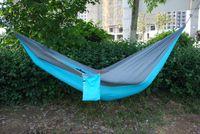 Wholesale Ultralight Hammock Camping - camping hammock garden hammock ultralight Nylon parachute hammock ultralight garden yard beach