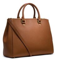 Wholesale Womens Black Large Bags - women purses crossbody shoulder Women Leather Womens Satchel Cross Body Shoulder Bags Ladies Large Tote Bag Bolsa Feminina 886