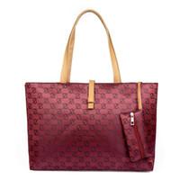 Wholesale Belt Buckle Pu Leather Handbag - Luxury Handbags Shoulder Bag Designer Female Ladies Handbag PU Leather Bag Wild Commute Belt Buckle Bags Large High Quality Shopping
