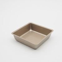 painting ceramic dishes - inch Kitchen Baking Tools Biscuit pans small square Comal mould bread cake moulds import non stick paint easy to demold pans