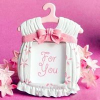 Wholesale Baby Themed Frame - Fast Delivery Factory directly sale Wedding Favor Baby Shower Cute Baby Themed Photo Frame Favors-girl Wholesale