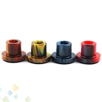 Wholesale best tank e cigarette resale online - Cleito Epoxy Resin Drip Tips For Cleito Atomizer Tank Best Mouthpiece Colorful High quality E Cigarette DHL Free