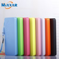 Wholesale External Backup Tablet - Wholesale-Mixxar 2200mAh Power bank Portable Charger Powerbank External Backup Battery Pack For Phone and Tablet Smart Device