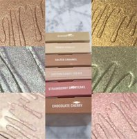 Wholesale french wear - Kylighter Kylie Cosmetics Highlighter Bronzers BANANA SPLIT & FRENCH VANILLA & COTTON CANDY CREAM & STRAWBERRY SHORTCAK Face Glow