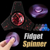Wholesale Polar Box - Top Newest Polar Aurora Fidget Tri Spinner Magical EDC Toys Decompression Anxiety Fingertip Toy For Kids Adult Relief Stress with Retail Box