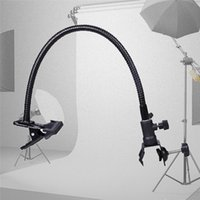 Wholesale Photo Clamp Clip - New Reflector Camera Photo Studio Accessories Light Stand Background Holder Clamp Clip Flex Arm Reflector