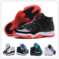 Wholesale Elastic Sneakers - Wholesale Retro (11)XI Basketball Shoes Bred Legend Blue Concord Space Jam Men Sports Shoes Basketball Sneakers Women Men Athletics With Box