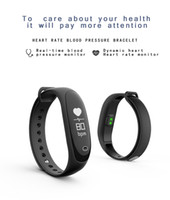 Wholesale Pink Blood Pressure - Sport Smart bracelet Smart Watch E26 heart rate Blood pressure monitor bracelet Smart Wristband Fitness Tracker Smartband Sleeping monitor