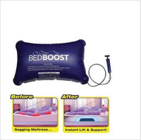 Wholesale Air Beds Mattresses - Bed Boost Custom Mattress Support Portable Bed Repair Inflatable Mat Support Air Inflatable Pillow LJJC5628 60pcs