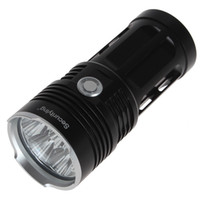 Wholesale Cree Hunting Torch Green - Sale Black   Gold SecurityIng 7000LM 7x CREE XM-L2 LED Super Bright Torch Light & Waterproof LED Flashlight LEF_SA6