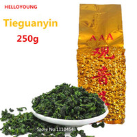 Wholesale green tea packaging for sale - Group buy Chinese Oolong Tea Vacuum packages Featured Fragrant Type Traditional TiKuanYin Green Tea Anxi TieGuanYin Tea g