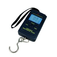 Wholesale So Hot HL g Kg Digital Hanging Luggage Fishing Weight Scale kitchen Scales Tool May