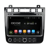 Wholesale Hd Radio Rds - Quad core HD Android 5.1.1 car dvd player for TOUAREG 2015-2016 GPS Navigation Radio RDS 3G Wifi DVR