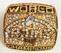 With Side Stones st super - 2000 St Louis Rams Super Bowl XXXIV World Championship Ring Size