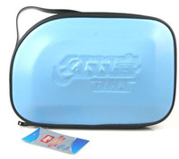 Wholesale Table Cover Sky Blue - Hot- - 2PCS- DHS RC302 RC303 RC304 (RC-302 RC-303 RC-304) Sky Hard Leather Table Tennis Tennis Racket Cover ping pang bags