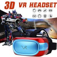 Todos em um VR Headsets Virtual Reality Glasses Wifi Bluetooth Android 5.1 Mobile 3D Cinema VR Box Head Mount 3D Movie Game Glasses B-XY