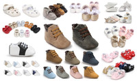 Wholesale Wholesale Cotton Ties For Boys - wholesale!150 styles for choose 36 pairs lot fashion baby boy girl shoes Toddler shoes First walkers