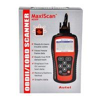Wholesale Obd2 Correction - 2017 Autel MS509 scanner OBDII OBD2 Car Code Reader Maxiscan MS 509 Automotive Diagnostic Tool free shipping
