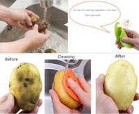Wholesale potato free - Fruit Vegetable Brush Kitchen Tools Easy Cleaning Brush For Potato Kitchen Home Gadgets Cooking Tool Free Shipping