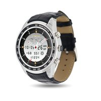 Wholesale Watch Phone Wifi Dual - Good Quality Android 5.1 MTK6572 Dual Core Bluetooth Smartwatch 0.3MP 512MB 4GB Wristwatch With 3G WiFi GPS finow Q7 Smart Watch Phone