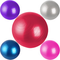Wholesale 45 Yoga Ball Balance Trainer Yoga Fitness Strength Exercise Workout w Pump