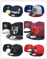 Wholesale Top Quality Ball Caps - Top Quality 2017 NRL South Sydney Rabbitohs Snapback Hip-Hop Snapbacks Baseball Cap Adjustable Hats Summer Embroidery hats Free Shipping
