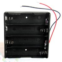 Wholesale Pc Power Supplies Battery - Battery Box Holder Fit 4 pcs 18650 Battery Plastic Battery Storage Case DIY Power Supply 14.8V Easy installation DHL Free