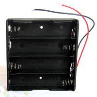 estojo para pc diy venda por atacado-Caixa de bateria Titular Fit 4 pcs 18650 Bateria Caso De Armazenamento De Bateria De Plástico DIY fonte de Alimentação 14.8 V fácil instalação DHL Livre