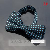 Wholesale Tuxedo Plaid Bow Tie - Novelty Mens Unique Tuxedo Bowtie Bow Tie Necktie Best Selling 30 Colors New High Quality