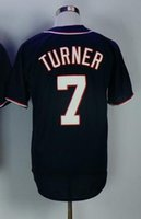 Wholesale Discounted New Clothes - 2017 new mens Washington Nationals 7 TURNER Baseball Jerseys tops,Baseball clothing Wear,discount Cheap men ball Wear,TOP Baseball Wear tops