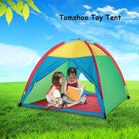 Wholesale Children Garden Play - TOMSHOO Portable Children Kids Play Tent Indoor Outdoor Garden Toy Tent Y3373