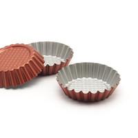 Wholesale Mini Pan Set - Wholesale- Non-Stick Carbon Steel Mini Tart Pans, Quiche Pan,4-Inch Diameter, Set of 6