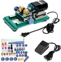 Wholesale Hole Machine - Pearl Drilling Holing Machine Driller Full Set Jewelry Tools 220V,280W,60HZ,24x11x11cm,500-16000 rev   min