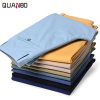 Wholesale Korean Clothes Wholesale Plus Size - Wholesale- Spring Summer Lightweight Men's Casual Pants 2017 New Arrived Brand Clothing Fashion Korean Cotton Trousers Plus size K5810