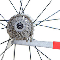 Wholesale Sprocket Tool - Carbon Steel MTB Road Bike Bicycle Cycling Wheel Chain Whip Cassette Sprocket Remover Tool Bicycle Chain Wheel Repair Tool Free Shipping