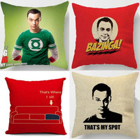 case theory - The Big Bang Theory Cushions Covers Jim Parsons Sheldon Spot Pillow Cushion Cover Decorative Linen Pillow Case For Car Sofa Couch Seat