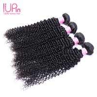 Wholesale Hiar Wave - Kinky Curly Virgin Hair Weave Queen Hair Products Deep Wave Curly Hair Weaves Double Weft Malaysian Curly Hiar Bundles For Wholesale