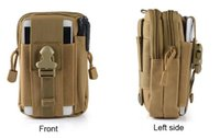 Wholesale Molle Waist - Military Molle Tactical Waist Bag Wallet Pouch Phone Case Outdoor Camping Hiking Bag10-0007