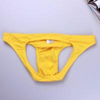 cuecas de atleta venda por atacado-Corda Real Ropa Interior Mujer Mens Underwear Underwear Jock Cuecas Masculinos Underwear Transparente Cor Sólida Tentação Homens Underwear Gay