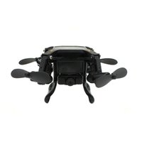 Wholesale Smart Rc Helicopter - 127W Smart Stretch RC Mini Pocket Drone 0.3MP Camera FPV Realtime WIFI 4 CH 6-Axis RC Toy Helicopter Quadcopter