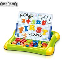 Wholesale Digital Learning Toys - Wholesale- Magnetic Board Sketchers Writing Drawing Board Digital Arithmetic Learning Resources Learning Educational Toys For Kids
