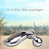 Wholesale Nose Massager - 3D Face Lifting Rollery Massager Thin Face 360 Degree Massager ABS Facial Massager Lifting and Firming Portable
