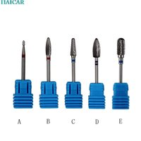 Wholesale Nail Art Manicure Pedicure Tools New design carbide nail drill bit carbide drill high quality feb15